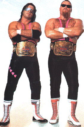 734d38d125 Hart Foundation History  The Pink and Black Attack is Born