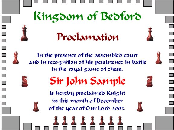 Chess bedford junior high registration memo students who have attended at least half of this falls ten chess club sessions will be awarded certificates yelopaper Images