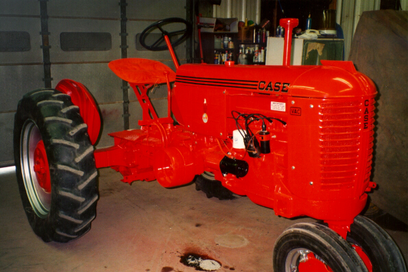 Looking For Case Vac Tractor : Justin s case vac