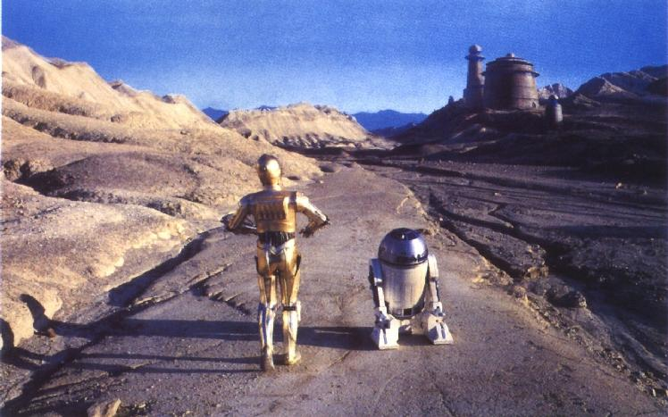 R2d2 And C3po Desert Cultural Star W...