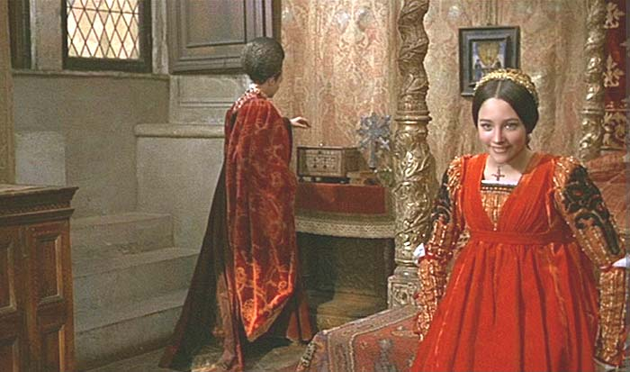a research on the version of romeo and juliet by franco zeffirelli Free essay: the films of franco zeffirelli versus baz luhbrmann's version of romeo and juliet two films, both alike in content, set in fair verona, where the.