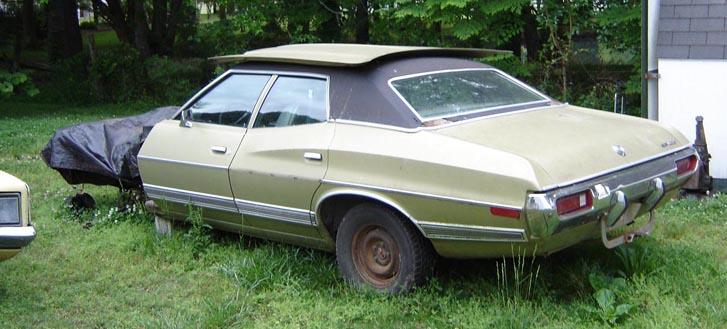 1972 ford gran torino 4 door