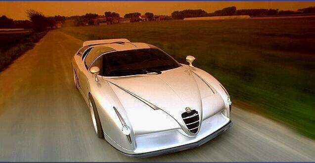 Need For Speed Supercars-- Italdesign Scighera