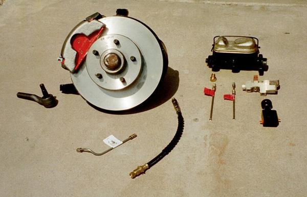 Granada Front Disc Brake Swap for Classic Mustangs
