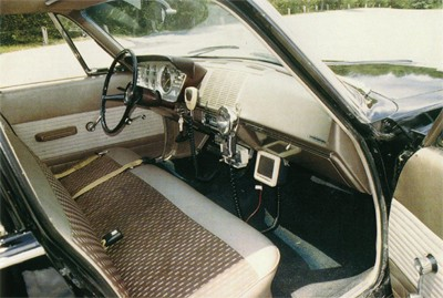 1962 Chrysler Savoy Police Car Interior