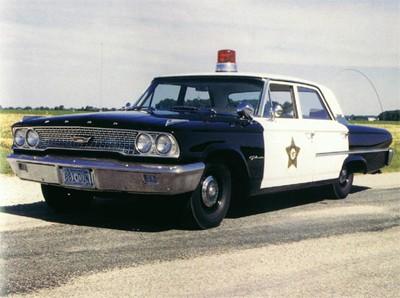 1963 Ford Galaxy Police Car