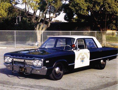 1965 California Highway Patrol Dodge Polara Different View