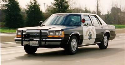 California Highway Patrol late 80's Crown Vic
