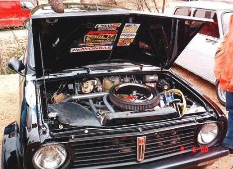 Viku Peralas V8 Engined Clubman