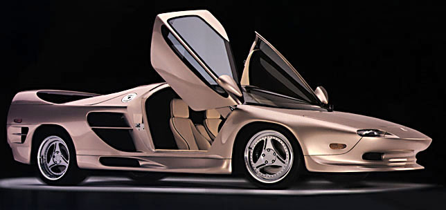"vector aeromotive corporation Vector aeromotive promotional video info  automobile that once promised to  rewrite the rule book on what a supercar could be: vector aeromotive's vector  w8  old staid corporate gm designers shouldn't attempt ""edgy."