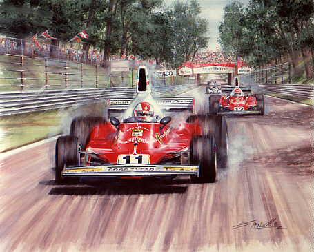 Greg Mcneill S Auto Art Original Art