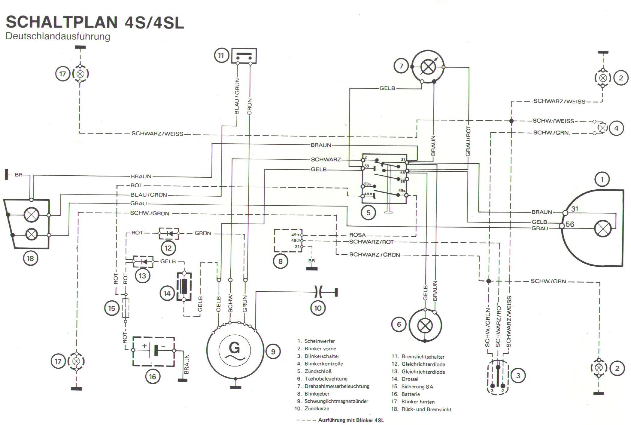 Großartig Schaltplan Dendabear Drosselanschlag Galerie - Elektrische ...