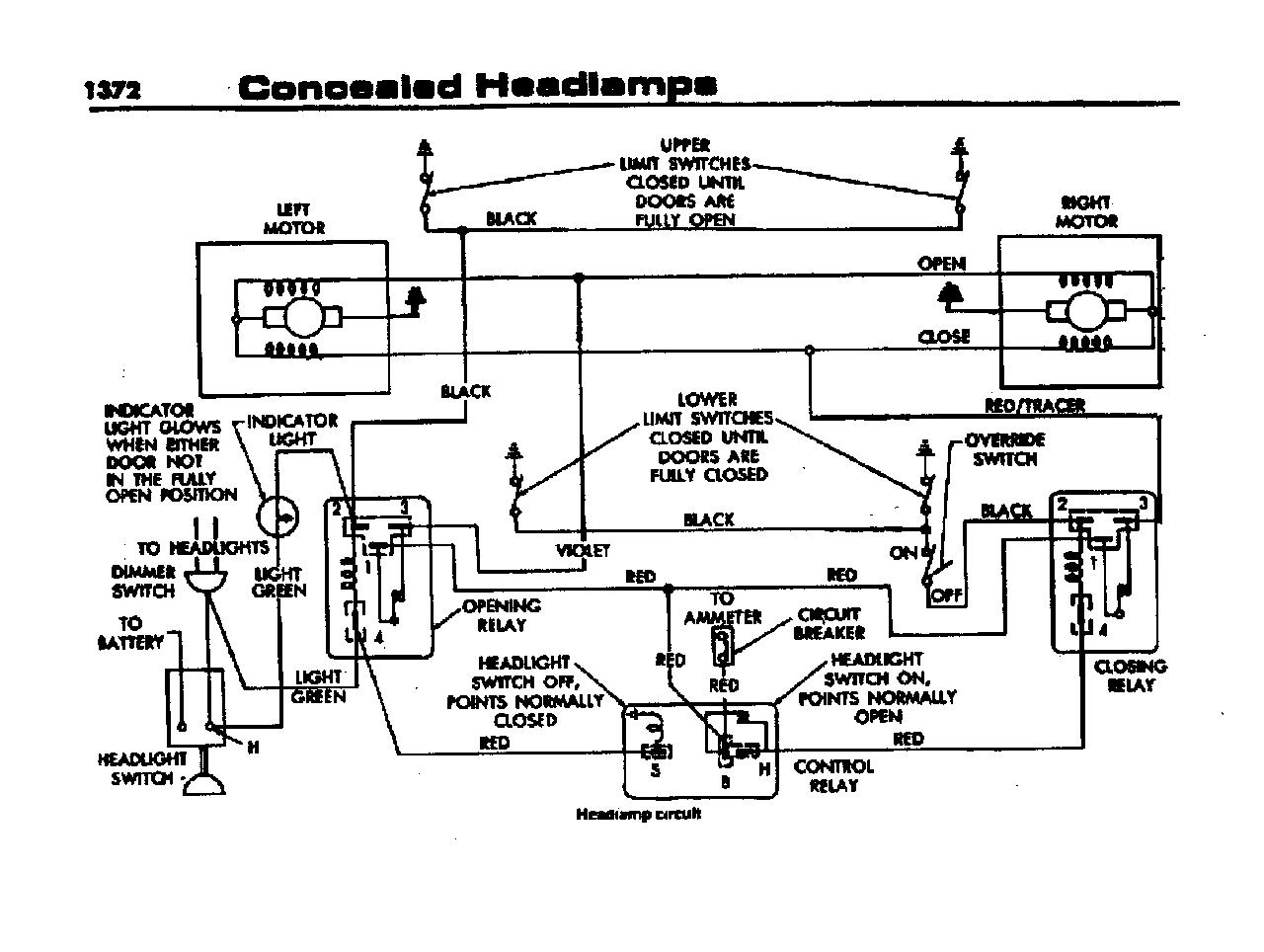 1966 charger headlight relay diagram   36 wiring diagram images