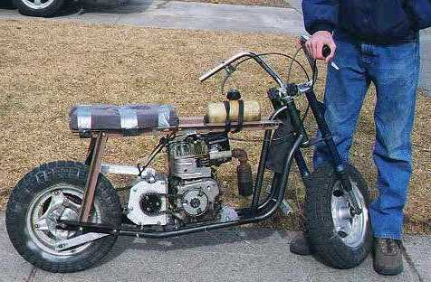 4 speed minibike the coolest and fastest mini ever. Black Bedroom Furniture Sets. Home Design Ideas