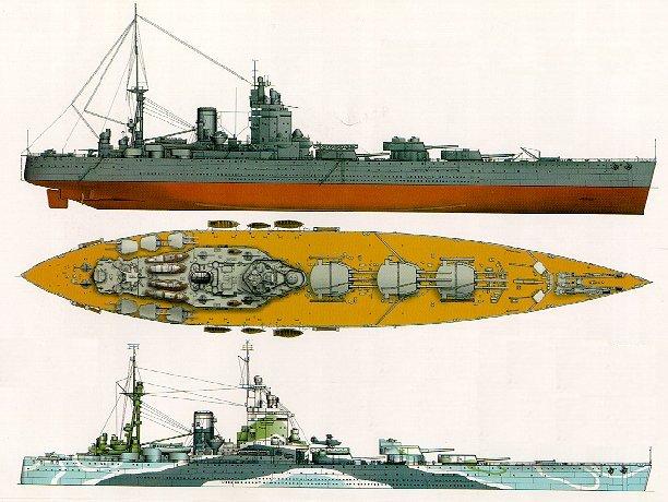 HMS RODNEY au 1/72 - Page 5 Drawing6