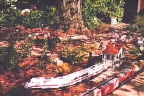 Large Scale Trains and Garden Railroad, the Bikini & Flamingo