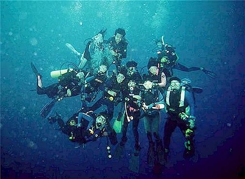 David goh 39 s scuba diving diving with mako sub aquatics - Sipadan dive centre ...