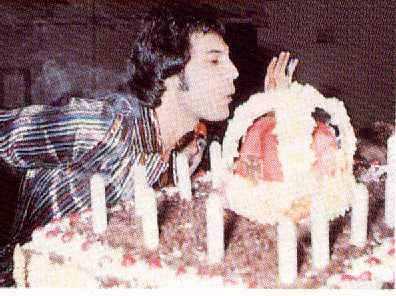 Freddie Mercury Birthday Cake