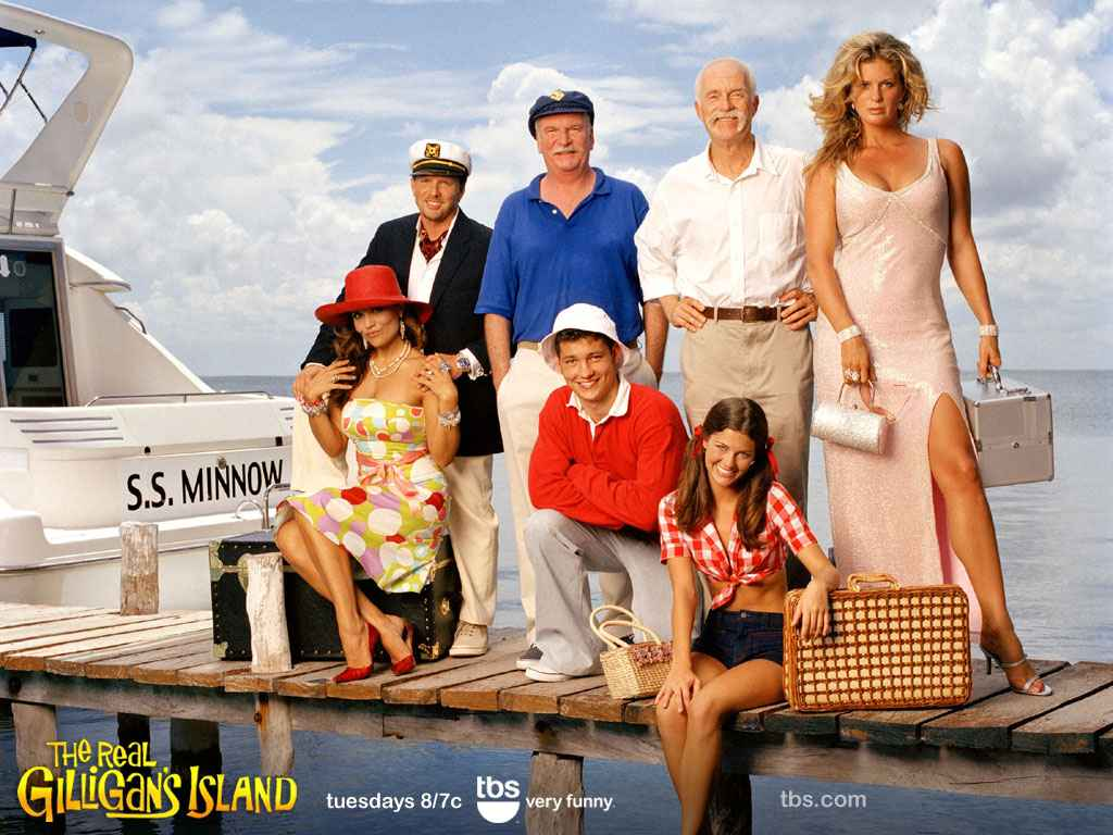 two casts compete on real gilligan s island
