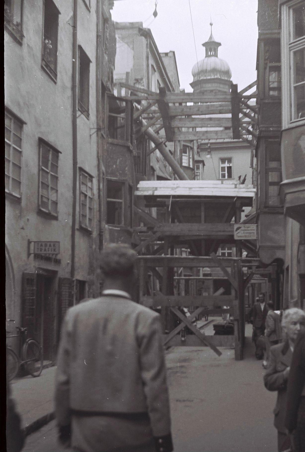 Wiederaufbau-Riesengasse-5-1953