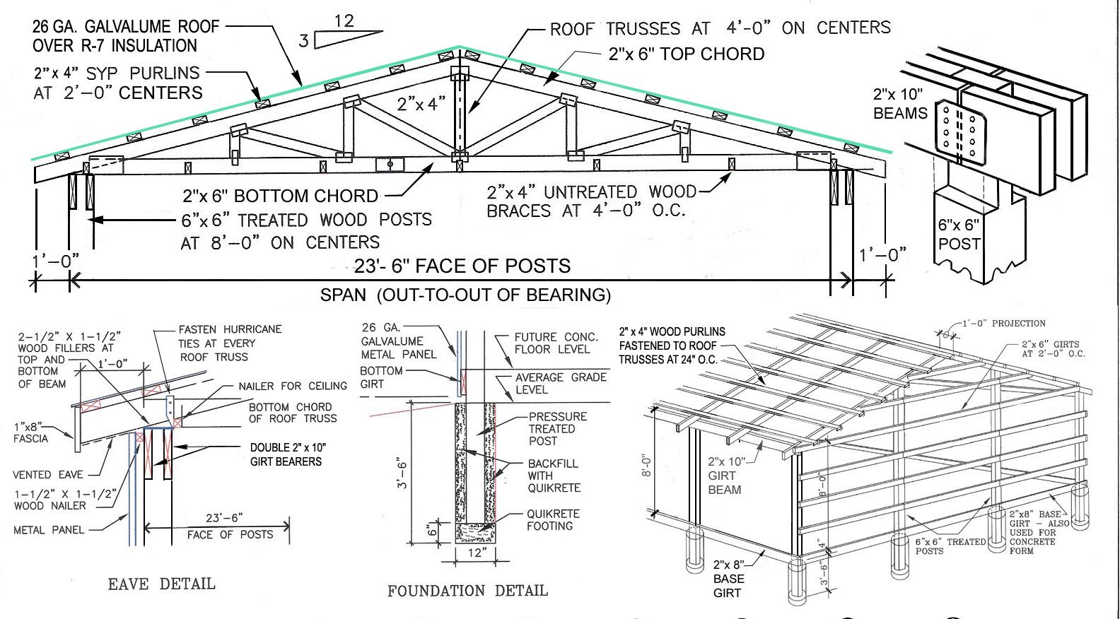 deep carport designs