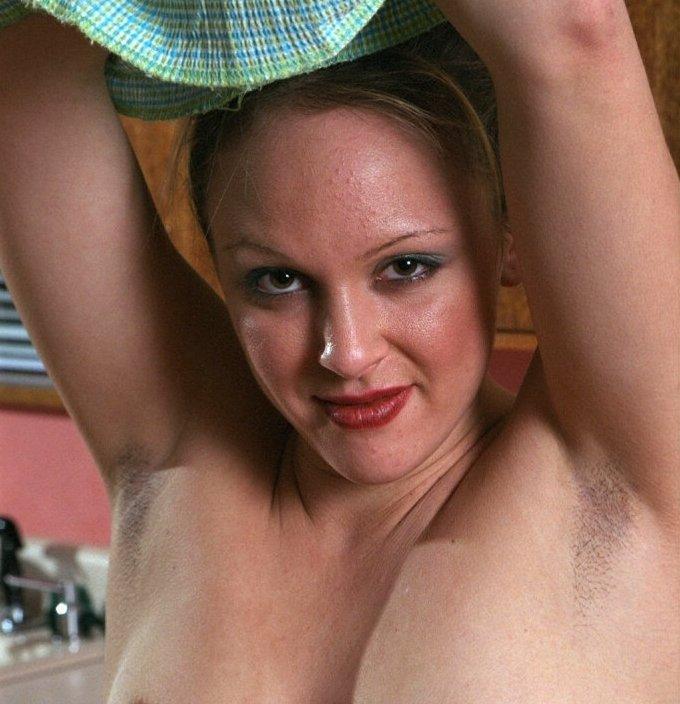 Porn girls armpit stubble