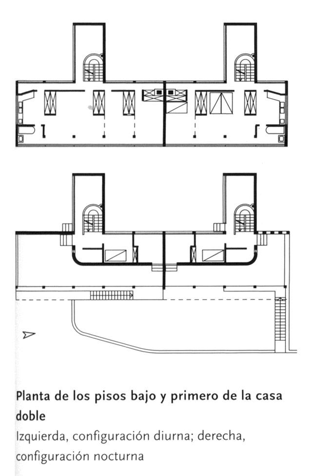 Le corbusier villas weissenhof for Villas weissenhofsiedlung