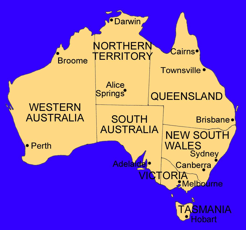 Australien diagramm