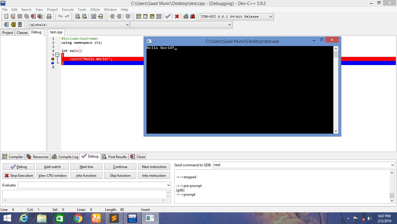 Dev C++ Current Version dev2