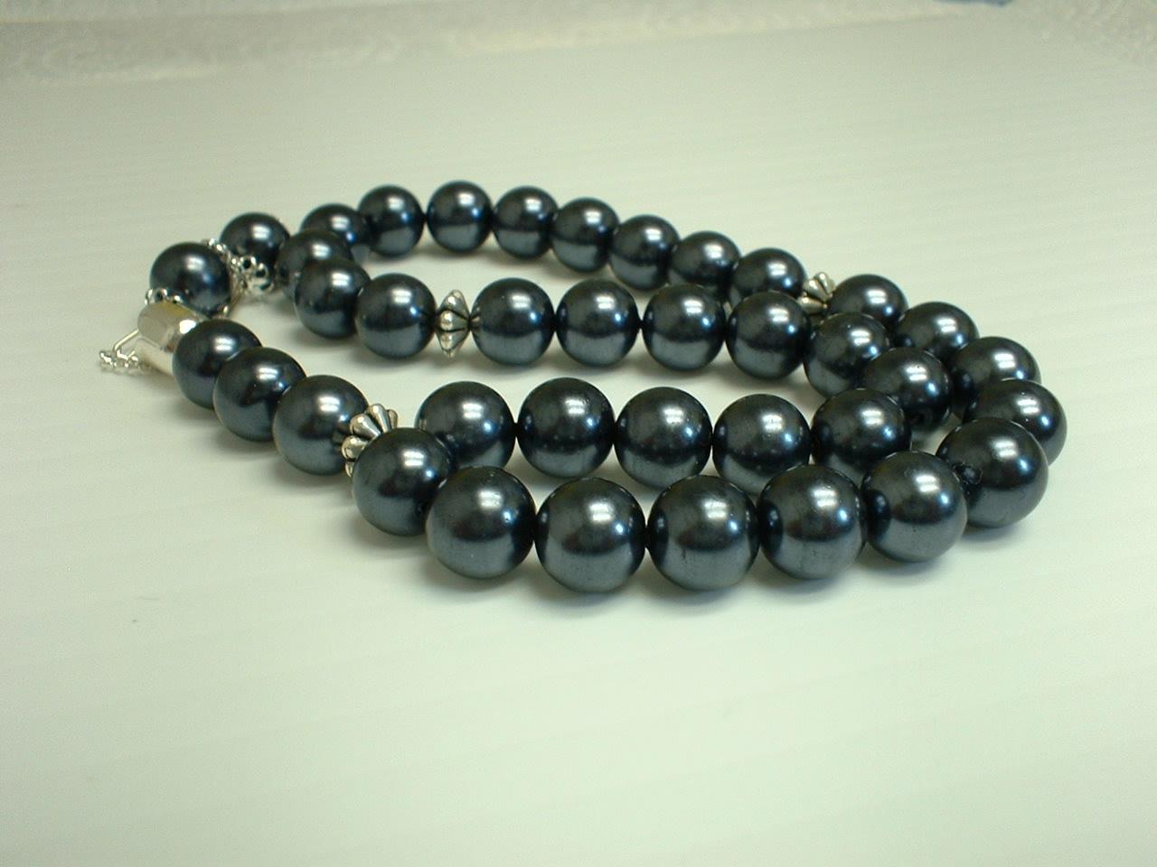 hematite glass muslim prayer beads 33