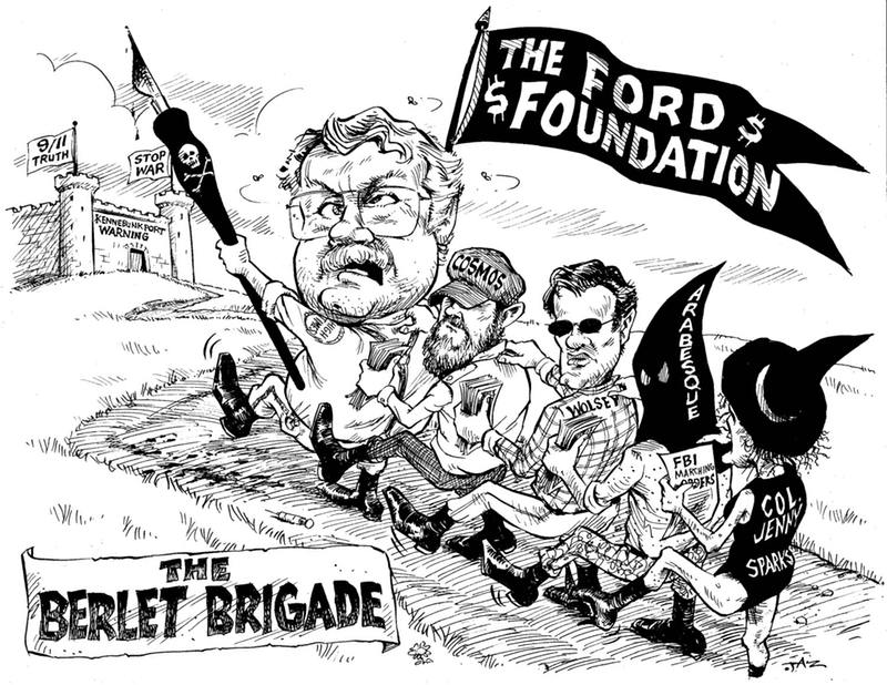 Courtesy Ford Portland >> Chip Berlet, Wall Street appendage