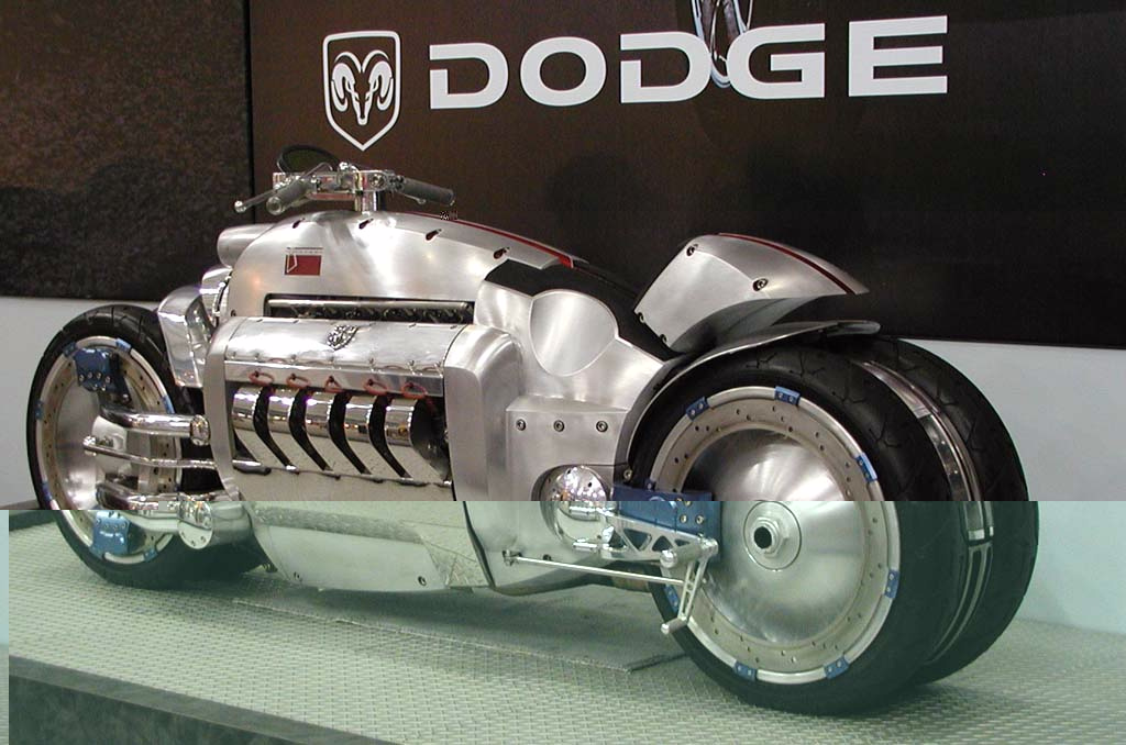 Image result for Dodge Tomahawk, 420 miles per hour-