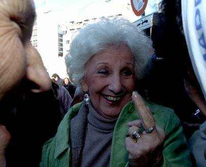 La abuela montonera