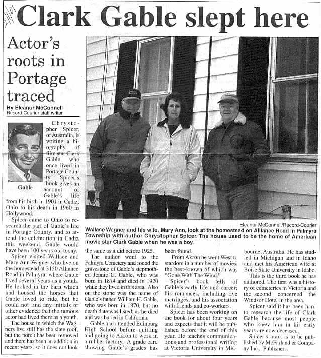 a tribute to clark gable