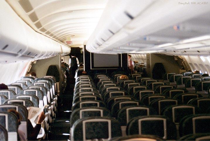Air Canada A330 Cabin