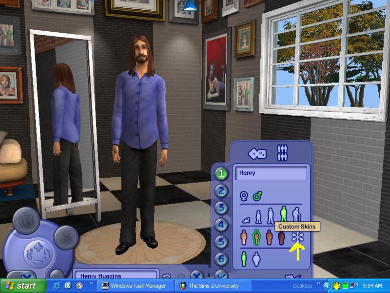 Mod the sims tutorial: fixing flashing blue accessories.