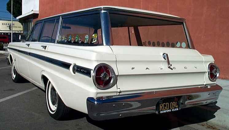 1965 Ford Falcon Station Wagon Futura Deluxe