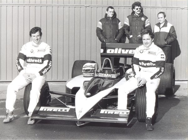 The 1986 Brabham Bmw Bt55