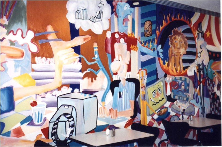 Corporate murals for Corporate mural
