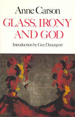 anne carson glass essay