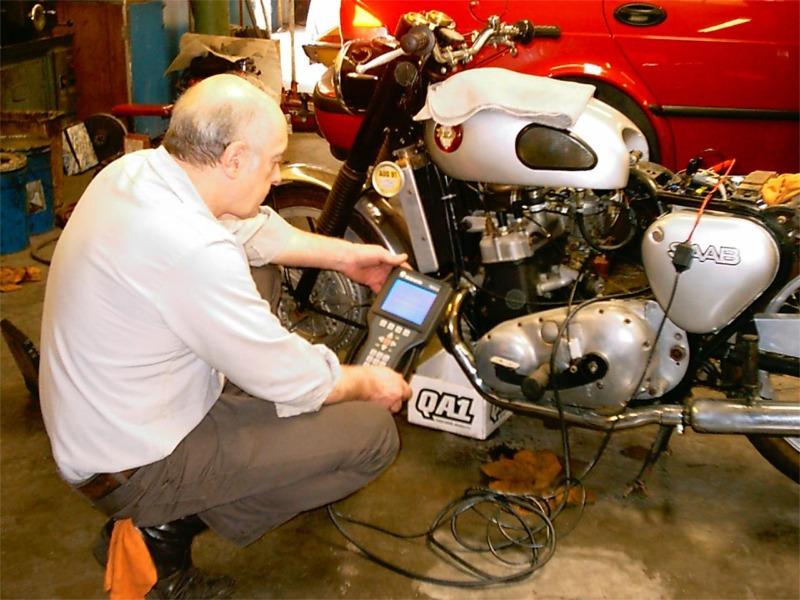 SaaBSA - Saab two-stroke engine swapped in motorcycle