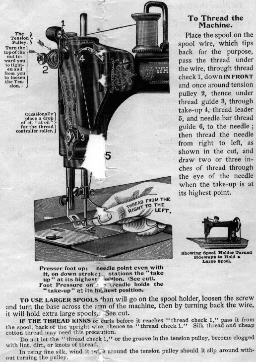 Antique Sewing Machine Resource Wheeler Amp Wilson Sewing