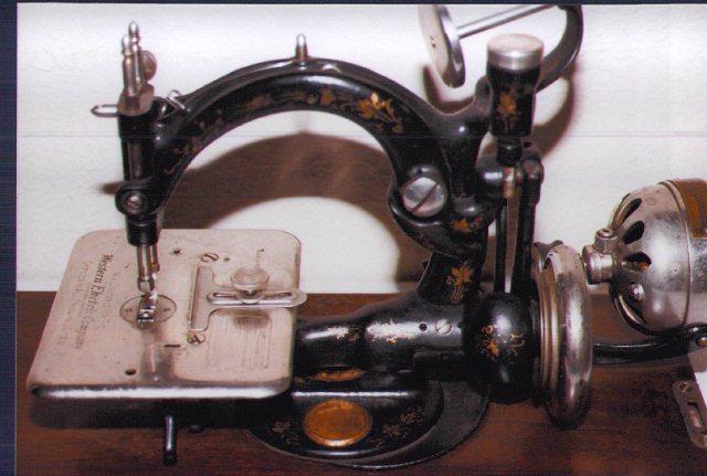 Antique Sewing Machine Resource Eldredge National Machines