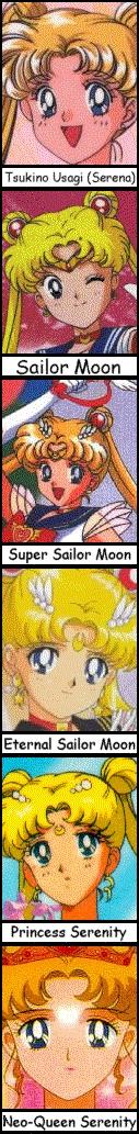 MoonPage: Profile of Usagi Tsukino - Sailor Moon