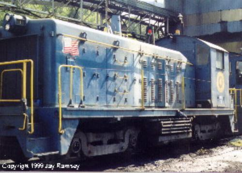 The Coal Belt Library - Golden Oak Switcher Locomotive Data Sheet