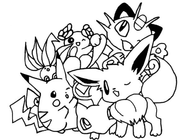 Pokemon - Coloriage pokemon legendaire ...