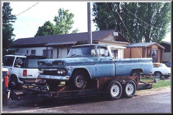 1961 Gmc 3 4 Ton Pickup