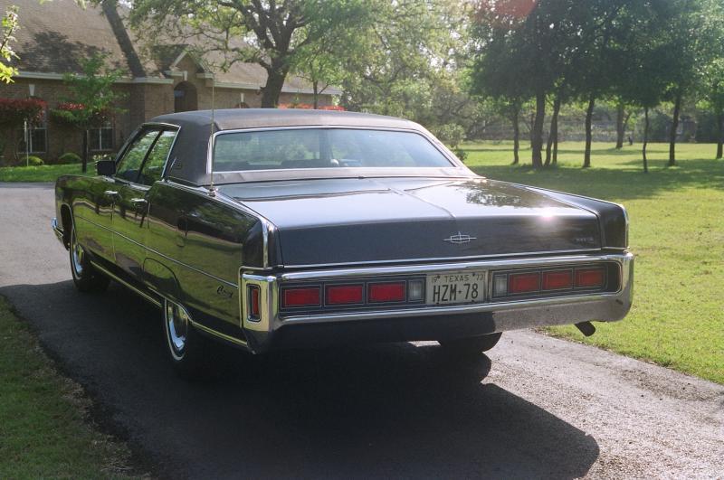 1973 Lincoln Continental Town Car