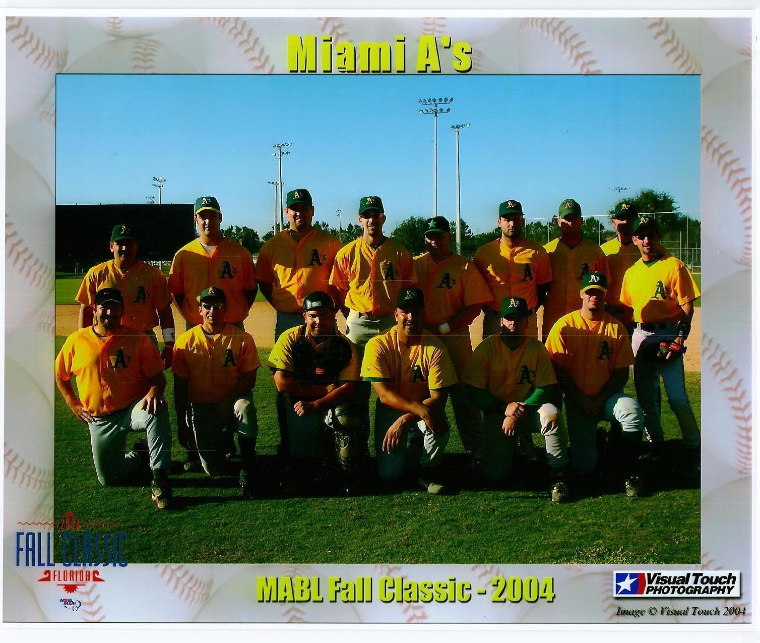 2004 Fall Classic A's