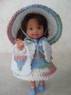 DOLL CLOTHES CROCHET | Crochet For Beginners